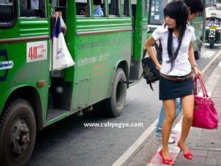 Modisnya Seragam Siswa Perempuan SMA di Thailand (Foto)